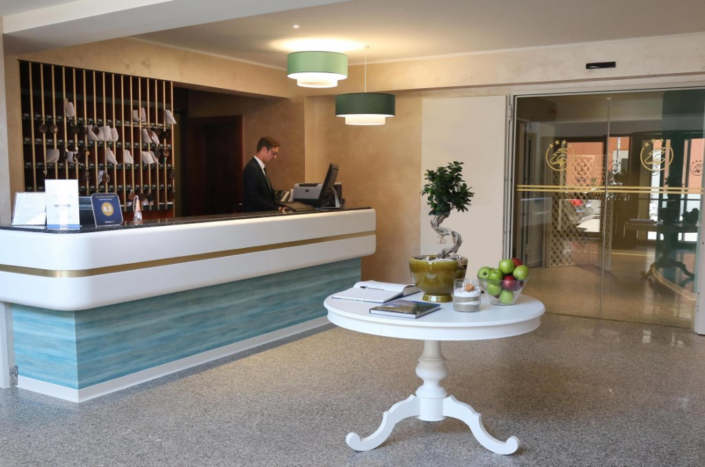 Reception Grand Hotel Terme